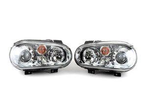 Helix OE HID Replica Projector Headlight Set - Chrome