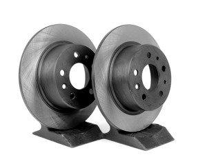 ES#2678244 - 1264230012KT5 - Rear Brake Rotors - Pair - Keep your brakes working like new - OP Parts - Mercedes Benz