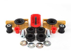 ES#2582090 - W0503KT2 - ECS Polyurethane Bushing Kit - Stage 2 - Replace the rubber in your suspension with polyurethane for a sportier feel - Assembled By ECS - Volkswagen