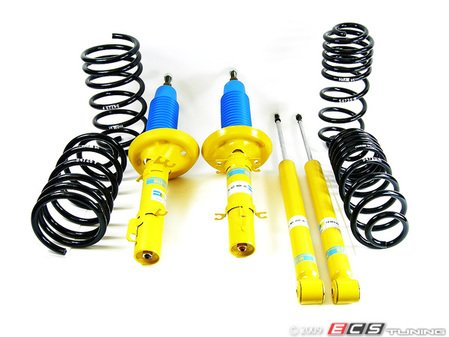 """ES#10574 - 29439-2BSC - H&R Sport Spring & Bilstein Sport Shocks Combo - Perfect combination of handing & ride quality, When lowering the chassis more than 1.4"""", you must use appropriate sway bar &/or sway bar links, to accommodate drive shaft clearance - Assembled By ECS - Volkswagen"""