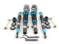 ES#2951803 - MRCDKE46EZ - EZ Street Series Coilovers - Ride height adjustable coilover system with 15-way damping adjustments and conservative spring rates perfect for slamming your car on a budget. - Megan Racing - BMW