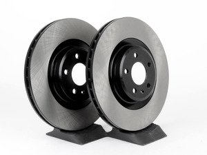 ES#2747898 - 8K0615301MKT - Front Brake Rotors - Pair (345x30) - Restore the stopping power in your vehicle - OP Parts - Audi