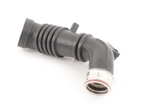 ES#2224477 - 06A133354H - Upper Intake Air Duct - Connects mass airflow sensor to the turbo - Genuine Volkswagen Audi - Audi Volkswagen