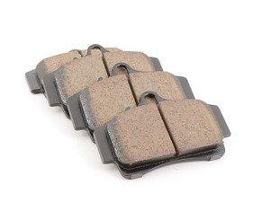 ES#2550166 - 98635293910 - Rear Euro Ceramic Brake Pad Set - Akebono EURO ceramic brake pads - Akebono - Porsche