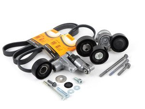 ES#2836737 - 11287512758KT1 - Accessory Belt Service Kit - Utilizes high quality aftermarket components - Assembled By ECS - BMW