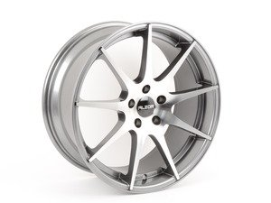 "ES#2825725 - 509-6 - 19"" Style 509 - Gunmetal With Machine Face - Priced Each - 19x8.5, ET35, 5x112, 66.6CB, Ball seat - Alzor - Audi Volkswagen"