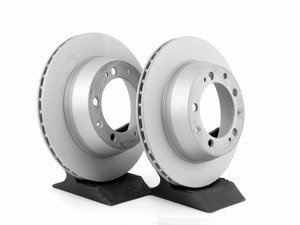 "ES#2593286 - 94435204102KT1 - Z-Coated Rear Brake Rotors - Pair 11.37"" (289mm) - Rear axle fitment - Both left and right - Zimmermann - Porsche"