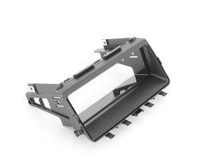ES#82445 - 51166963383 - Rear center console Storage mount - Mounts the rear console storage bin - Genuine BMW - BMW