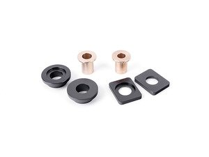 ES#2840889 - 003929ECS0102AKT -  Solid Shifter Cable Bushing Upgrade Kit - Rectangle 8.5mm (F2B) - Round 10mm (S2S) - Tighten your shifter and stop missing shifts with ECS Billet and Bronze shifter bushings! - ECS - Audi Volkswagen