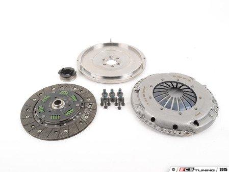 ES#2826545 - 10105100519K - 228mm steel flywheel and sport clutch kit - Includes flywheel, pressure plate, disc and all hardware - Autotech - Volkswagen