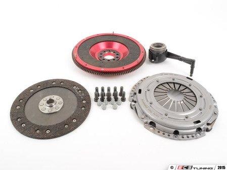 ES#2826542 - 10105090579K - Stage 1 Clutch Kit - Aluminum Flywheel  - Includes lightweight flywheel, pressure plate, clutch disc and all hardware - Autotech - Volkswagen