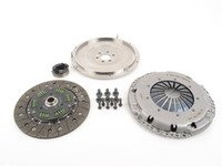 ES#2826550 - 10105150519K - 228mm steel flywheel and sport clutch kit - Includes 228mm steel flywheel, pressure plate, clutch disc and all hardware - Autotech - Volkswagen