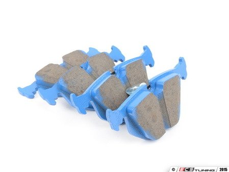 ES#2621856 - DP5690NDX - Rear BlueStuff Performance Brake Pad Set - Race inspired performance, NDX formula provides a great initial bite - EBC - BMW