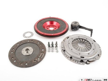 ES#2826539 - 10105080579K - 240mm lightweight flywheel and Sport clutch kit - Includes lightweight aluminum flywheel, pressure plate, clutch disc and all hardware - Autotech - Volkswagen