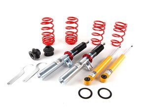 "ES#1876344 - 29014-12 - Street Performance Coilover Kit - Unrivaled comfort and performance. Average lowering of 1.2""-2.3""F 0.8""-2.0""R - H&R - Volkswagen"