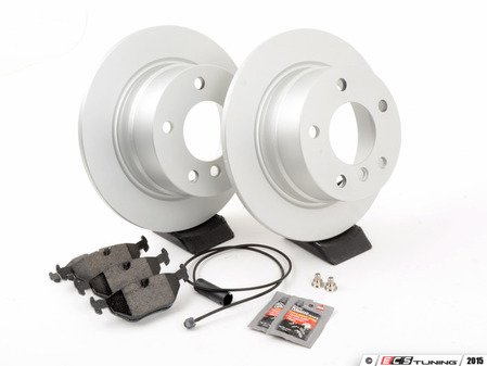 ES#2703076 - 40406004KT1 - Rear Brake Service Kit - Featuring Meyle rotors and Vaico pads - Assembled By ECS - BMW
