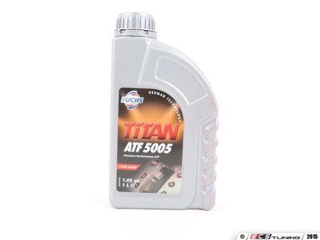 ES#2538895 - 00004320700 - Tiptronic Automatic Transmission Fluid - 1 Liter - Fuchs Titan ATF 5005 - Fuchs - Porsche