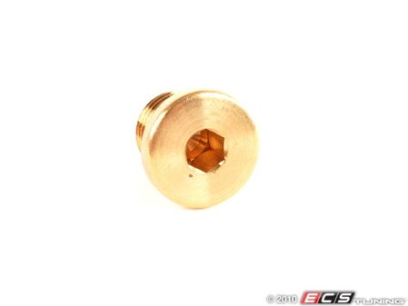 ES#15376 - 07119919146 - Radiator Plug - Located in the right side of the radiator - Genuine BMW - BMW