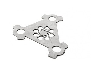ES#2794146 - IEDIYVA3 - K03/K04 Bolt Locking Plate - Locks the three turbo mounting bolts in place so they don't back out causing the gasket to fail. - Integrated Engineering - Volkswagen