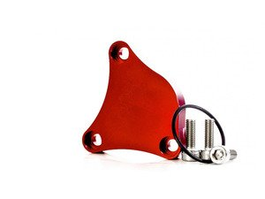 ES#2794455 - IEBAVC3-R - High Pressure Fuel Pump Block off Plate - Red  - Used to plug the high pressure fuel pump hole on the head when converting to port injection. - Integrated Engineering - Volkswagen