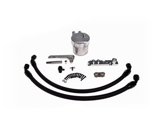 ES#2862869 - CTSCCGolfR - Billet Aluminum Catch Can Kit - Keep your intake manifold and valves clean and oil free - CTS - Volkswagen