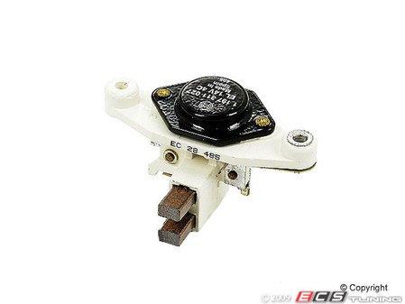 ES#2480 - 30097 - OE Voltage Regulator - Brush set that screws in the back of the alternator - Bosch - Audi