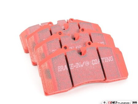 ES#520593 - DP3767C - RedStuff Performance Brake Pad Set - A high-performance street pad featuring Kevlar technology - EBC - Audi Porsche