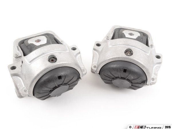 ES#2918007 - 034-509-0048KT - Street Density Line Motor Mounts Kit - Void-free and fluid-free, eliminating the slop associated with the factory mounts - 034Motorsport - Audi