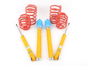 ES#2738353 - 34003350KT - Performance Suspension Cup Kit - Race - Popular setup featuring Bilstein B8 Sport dampers with H&R Race Springs - Assembled By ECS - BMW