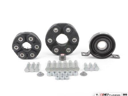 "ES#2763358 - 26117503159kt2 - Universal Flex Disc Kit - Includes ""Giubos"", center mount, and hardware - Assembled By ECS - BMW"