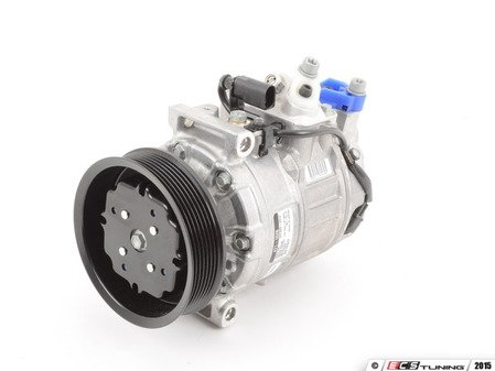 ES#2918545 - 7L6820803R - A/c Compressor - Includes the electromagnetic clutch assembly - Denso - Volkswagen