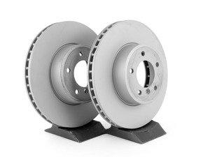 ES#2807110 - 34116753221SDKT - Front Brake Rotors - Pair (324x30) - Pair OE replacement rotors - Zimmermann - BMW