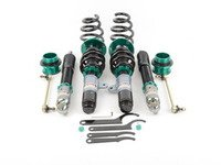 ES#2858315 - MRCDKE92M3 - Euro-Street Series Coilovers - Ride height adjustable coilover system with 32-way damping adjustments and aggressive spring rates for those of you looking to perform on and off the track without breaking the bank - Megan Racing - BMW