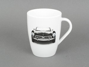 ES#2500908 - 80222219962 - Coffee Mug - BMW 507 - A white porcelain mug with an image of the classic BMW 507 - Genuine BMW - BMW
