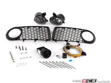 ES#1876418 - 1C0998001 - Fog Light Conversion Kit - Complete kit to install fog lights on your New Beetle - Assembled By ECS - Volkswagen