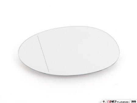 ES#2855361 - 51167366039 - Blind Spot Mirror Glass - Left - Mirror - Aspherical & Heated - Genuine European Mini - MINI