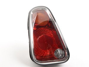 ES#2580815 - 63217166955 - Tail Light Euro - Driver (Left) - Replace a broken or faded tail light housing : Amber top turn - Genuine European Mini - MINI