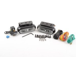 ES#11769 - UN6208180 - Optilux Auxilliary Lamp Kit - Model 1200, Clear fog light kit - Hella - Audi BMW Volkswagen MINI
