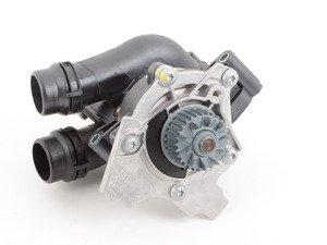 ES#2818188 - 06J121026BG - Water Pump Module  - Includes the thermostat, temp sensor, and gasket - Genuine Volkswagen Audi - Audi Volkswagen