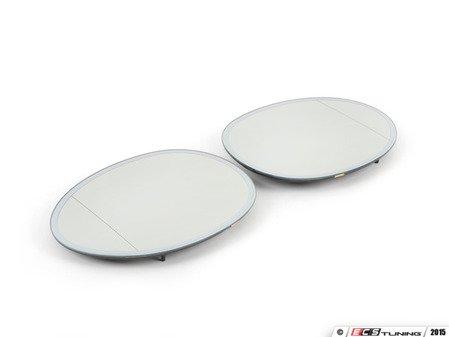 ES#2855371 - 51167366045KT - Blind Spot Mirror Electrochromatic - Set - Eliminate your blind spots - Aspherical & Heated & Auto dim & Auto dip - Genuine European Mini - MINI