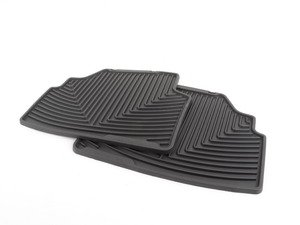 ES#2193859 - W142 - Rear All-Weather Floor Mats - black - All-weather protection to endure the harshest conditions - WeatherTech - BMW