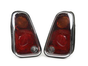 ES#2804277 - 63217166955KT - Tail Light Euro - Set - Replace a broken or faded tail light housing : Amber top turn 7/2004+ - Genuine European Mini - MINI