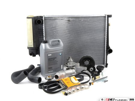 ES#2836986 - 17111737760KT - ECS Cooling Maintenance Kit - Level 3 - The ultimate cooling refresh kit - featuring a Geba water pump with metal impeller - Assembled By ECS - BMW