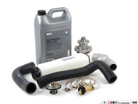 ES#2836994 - 17111737760kt2KT - Cooling System Refresh Kit - Level 1 - Stop your cooling problems before they start - featuring a GEBA water pump and an aluminum thermostat housing - Assembled By ECS - BMW