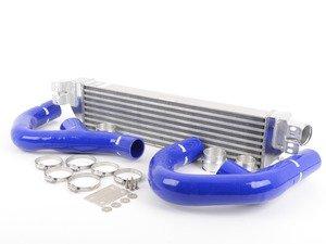 "ES#2827149 - FMINTMK6BLU - Front Mount Intercooler Kit - Blue Hoses - Forge innovative ""TWINtercooler"" design - Forge - Volkswagen"