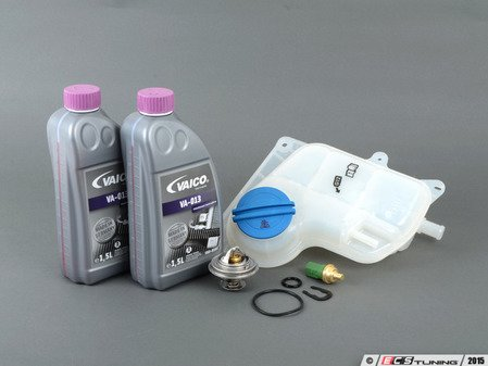 ES#2778206 - 078121113FKT10 - Cooling System Refresh Kit - Service your critical cooling system components with this complete kit. - Assembled By ECS - Audi