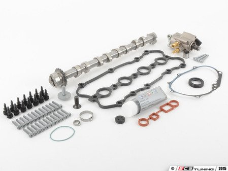 ES#3046834 - 06F198101BKT1 - Complete 2.0T Camshaft Replacement Kit - Stage 2 - Upgraded replacement kit including the high pressure fuel pump - Assembled By ECS -