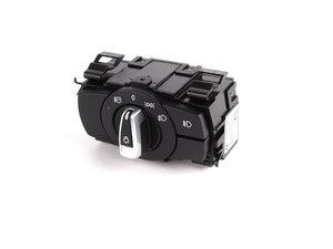 ES#255976 - 61319169398 - Headlight Switch - Chrome - With fogs and rain sensor - Genuine BMW - BMW
