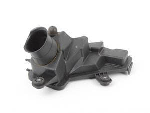 ES#35249 - 13717571983 - Outer Air Box Tray - Left - Attaches the inlet pipe to the airbox - Genuine BMW - BMW