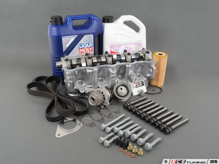 ES#2855398 - 038103265AKT - Cylinder Head Replacement Kit - Includes complete cylinder head, required gaskets, hardware, oil and coolant! - Assembled By ECS - Volkswagen